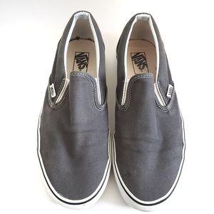 Vans Slip-On Grey 9.5 EUC